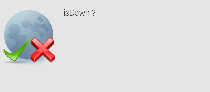 How to check if a Website is down or not on Android device? [isDown App]