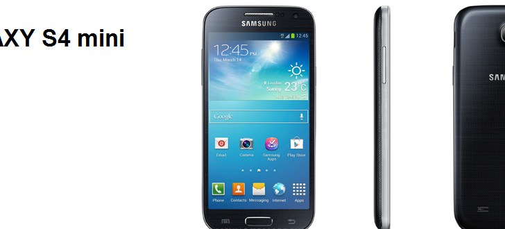 Samsung Galaxy S4 mini launched in India for Rs 27,990