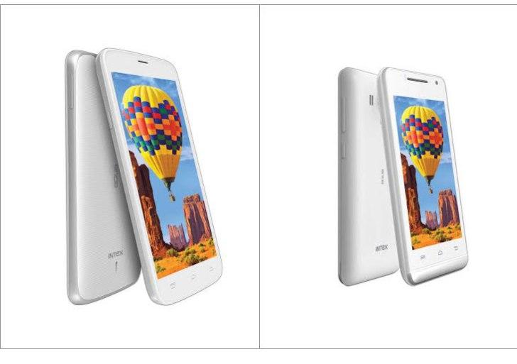 Intex Aqua i14 and Aqua N15 Android KitKat Smartphone Launched