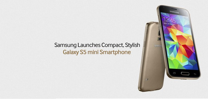 Samsung Galaxy S5 mini announced, comes with fingerprint scanner and heart rate sensor
