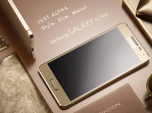 Samsung unleashes the Galaxy Alpha, but can the metal body be just enough?