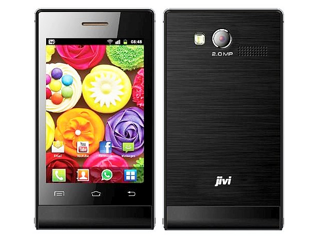 Jivi JSP20 is the cheapest Android Smartphone in India at Rs. 1,999