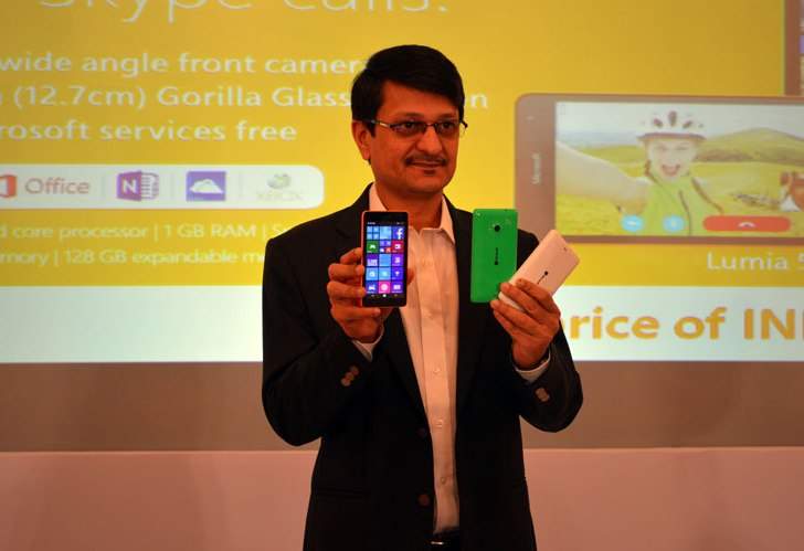 Microsoft Lumia 535 Launched at Rs 9199; Dual-SIM with a 5MP front shooter