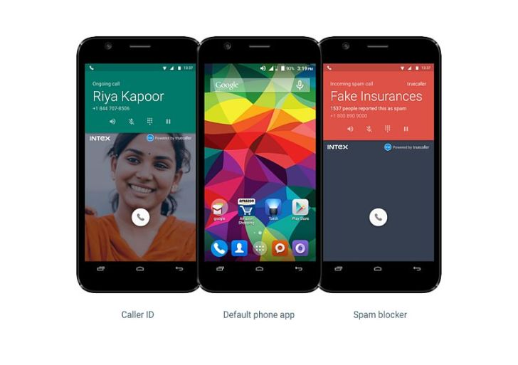 Intex replaces native dialer with Truecaller for its Intex Young devices