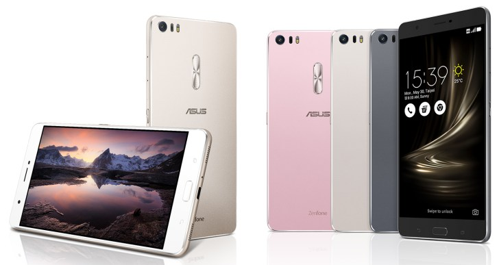Asus announces the Zenfone 3 Family : Zenfone 3, Deluxe and Ultra , Price starts at $249