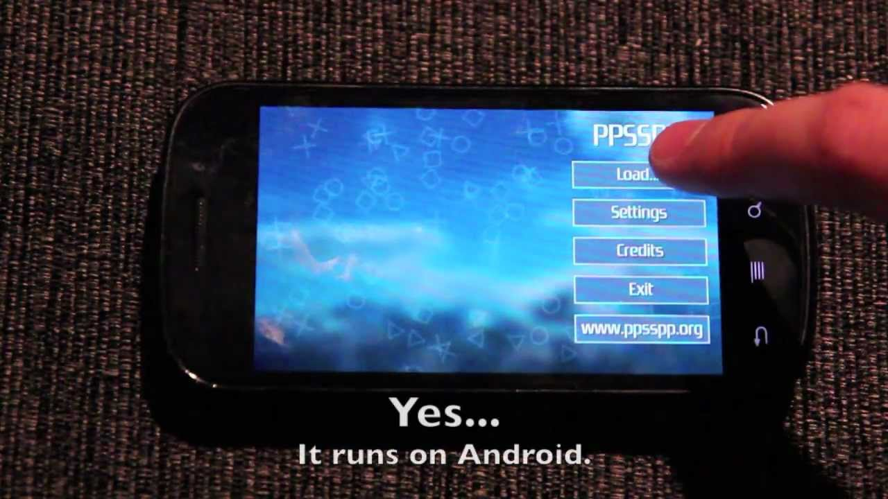 emulator game PSP di Android