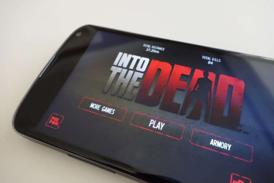 into the  dead mobile