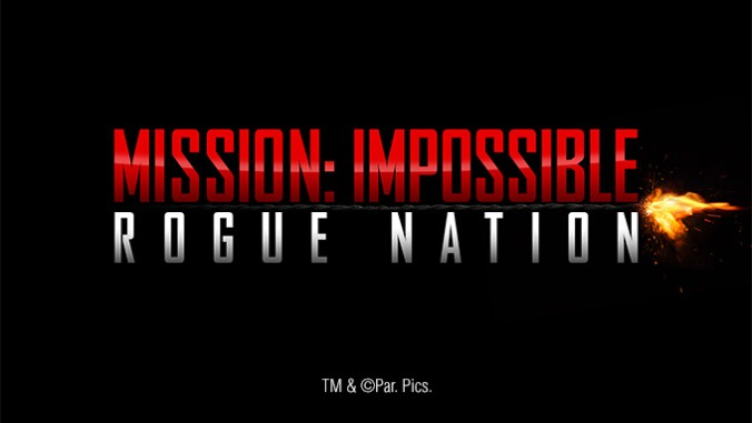 Mission Impossible Rogue Nation