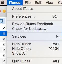 Update iTunes on the Mac 3
