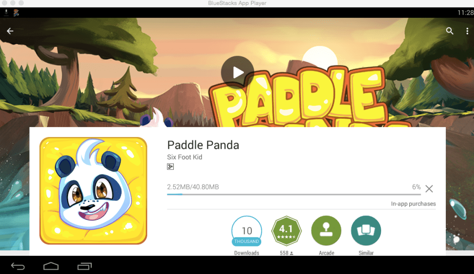 Paddle Panda for PC 7