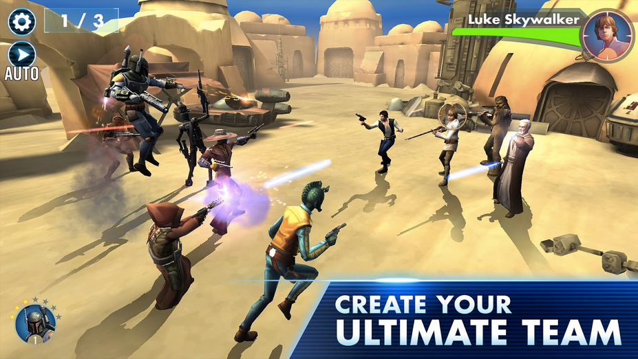 Star Wars Galaxy of Heroes APK 2