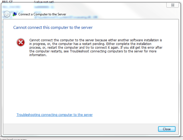 Cannot Connect Computer