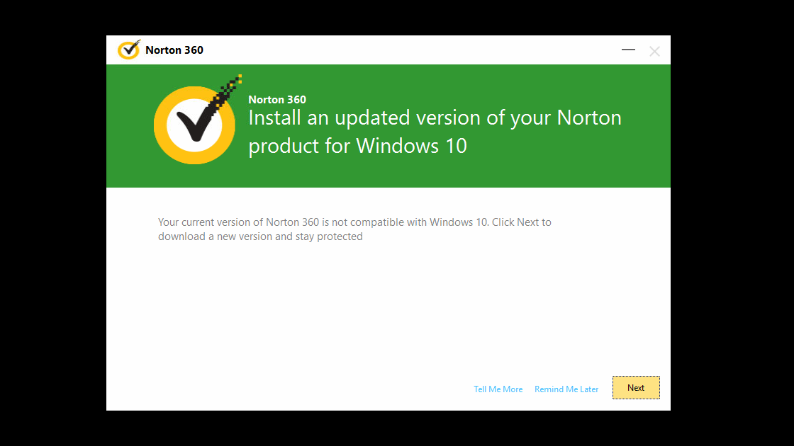 Install an Updated Version of Your Norton Product for Windows 10  techspeeder
