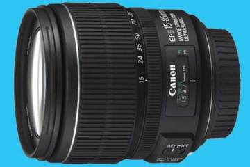 Canon 15-85mm camera lens