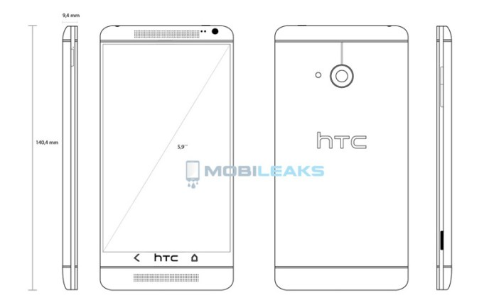 HTC One MAX Top 5 Upcoming Android Smart Phones to Launch in 2013