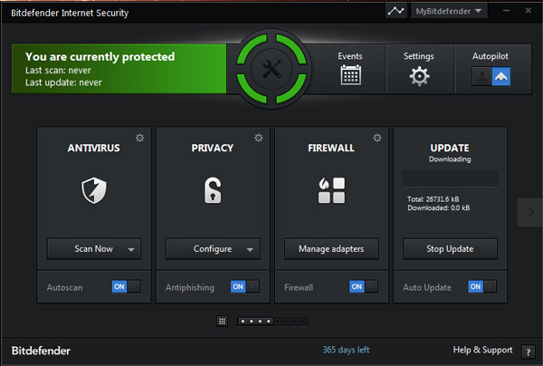 bitdefender internet security 2013 interface Bitdefender Internet Security 2013 Review