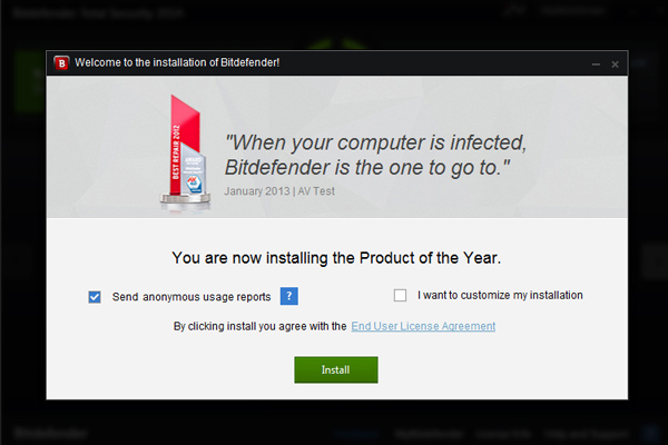 install bitdefender Bitdefender Internet Security 2013 Review