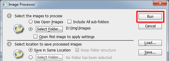 resize multiple batch images in photoshop cs5 4 How to Batch Resize Multiple Images in Photoshop CS5