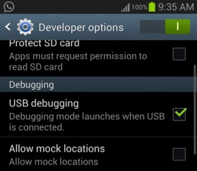 turn on usb debugging samsung galaxy s3 How To Root Samsung Galaxy S3 I9300 on Android 4.3 JellyBean