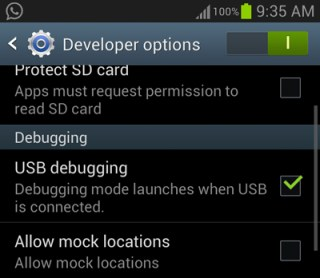 turn on usb debugging samsung galaxy s3 How To Install Official Android 4.3 on the Samsung Galaxy S3 I9300