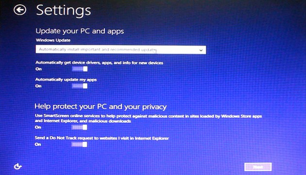 windows 8.1 settings 3  How to Install Windows 8.1   Instructions with Screenshots