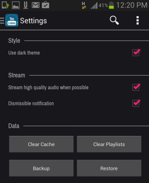 ulisten-settings-to-choose-from-high-quality-or-low-uality-audio-streaming