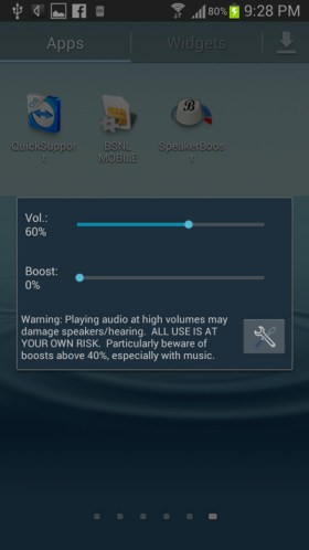 how to raise volume on android