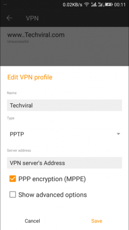 Set-Up VPN On Your Android Manually