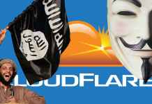 Anonymous Charged US Security Firm For Protecting ISIS Sites
