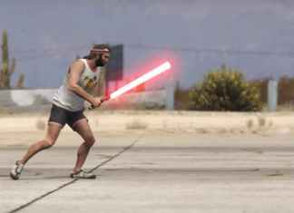The Most Epic GTA V Video With Star Wars Action