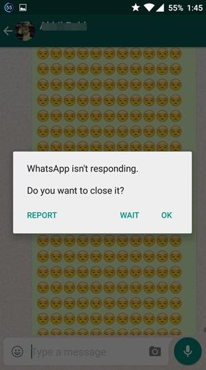 Whatsapp carash2