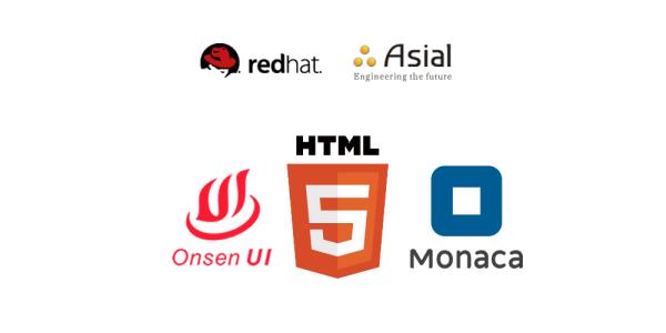 画像2: オープンソースソリューションのプロバイダー「Red Hat(レッドハット)」とHTML5ハイブリッドアプリ開発環境「Monaca」などを提供するアシアルは2016年10月5日、エンタープライズ向けシステムに対応したモバイ [...] techwave.jp