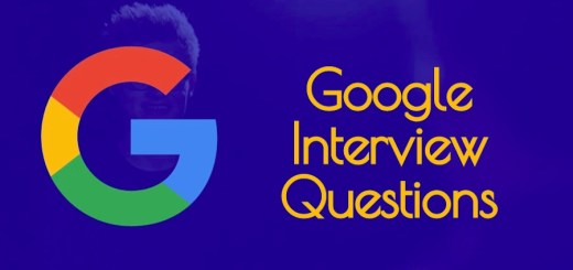 10 Google Interview Questions
