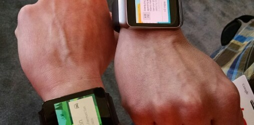 GOOGLE BEATS APPLE AT GETTING SMART WATCH TO MARKET