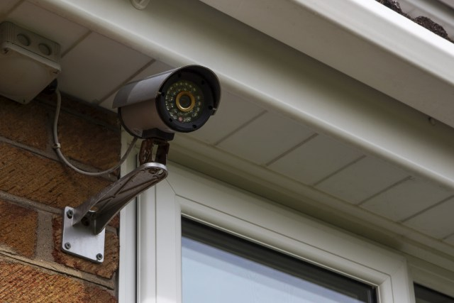 CCTV security camera for home protection & surveillance.