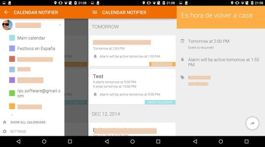Calendar-Events-Notifier-Android