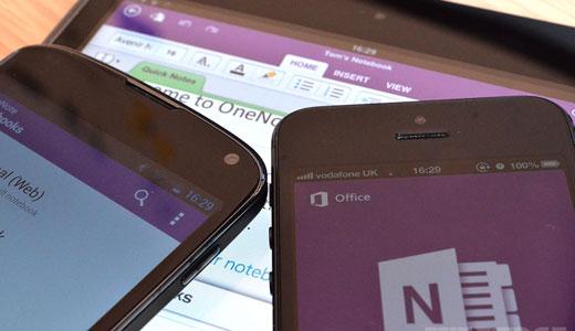 OneNote viene aggiornato su Android supportando il multi-window