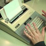 word processor typewriter