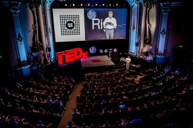 TEDxRiga stage