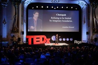 Chutzpah: Jonathan Howard at TEDxRiga