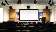 Saturday's film festival will take place at the brand-new Malsi Doyle and Michael Forman Theater in the McKinley building of American University.