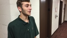 Jonah Gelfand, 16, looks ahead toward college.