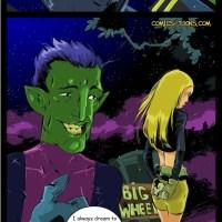 [Okunev] Terra and Beast Boy (Teen Titans)