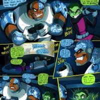 Teen Titans Porn Comics - Go! fuck
