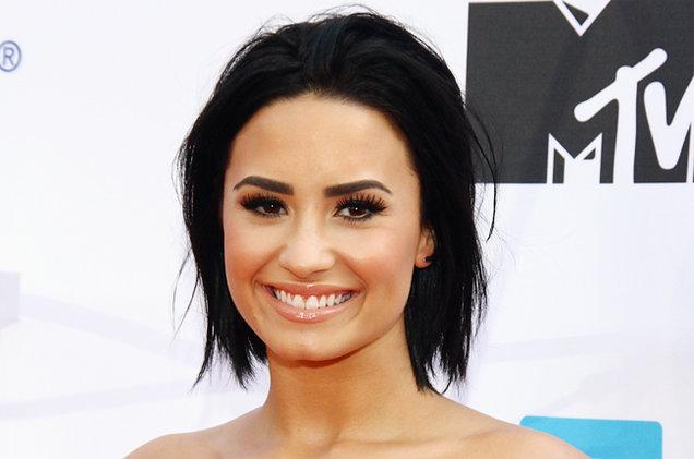 Lovato Lovato Demi Lovato drops an f-bomb and jokes about lip syncing Demi Lovato 2015 Billboard 650