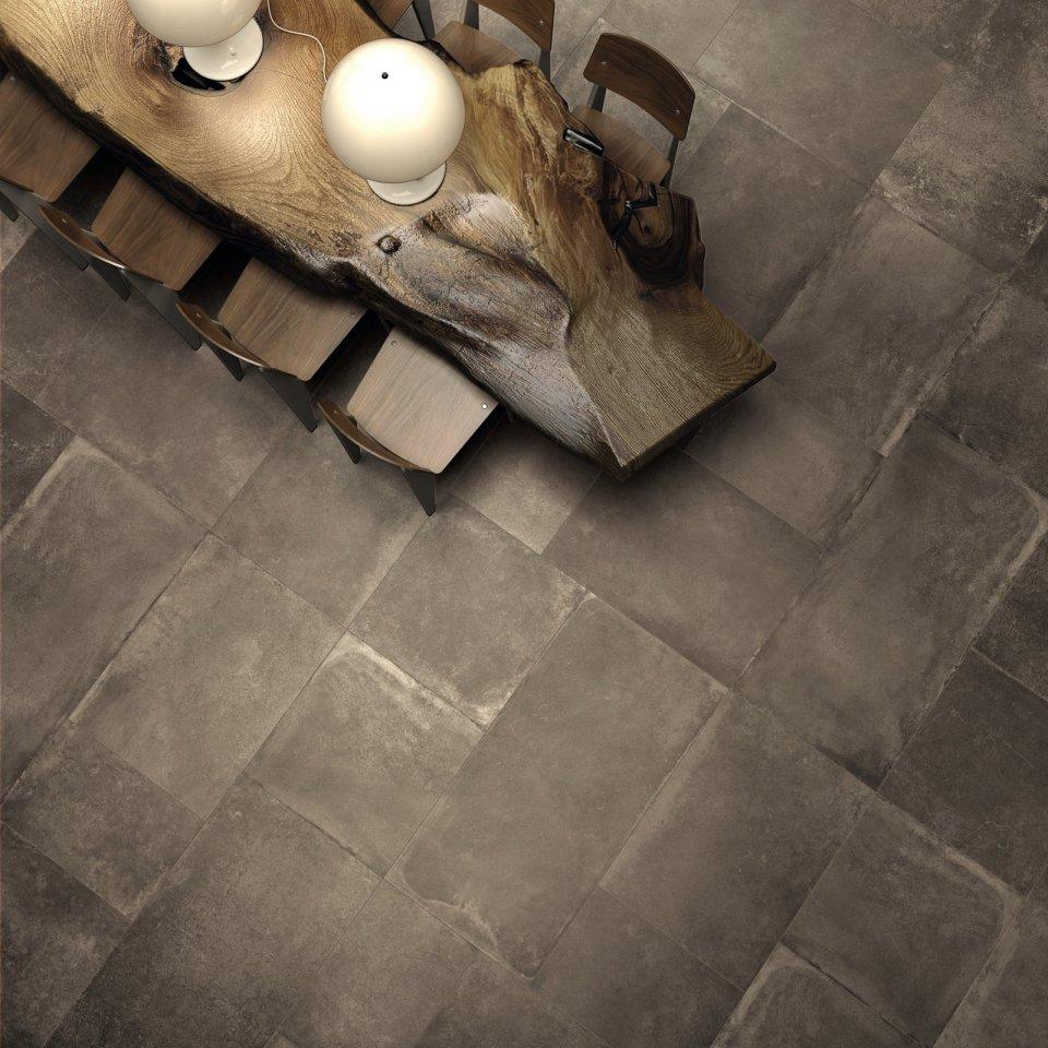 Betonlook vloer Flaviker Verband 60x60 60x120