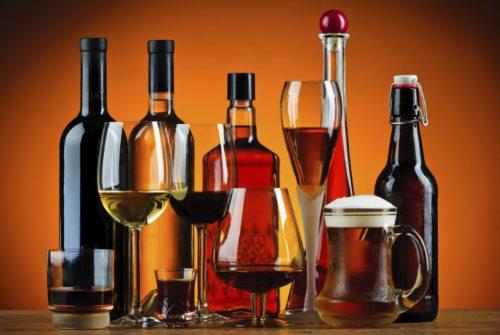алкоголь вино водка коньяк