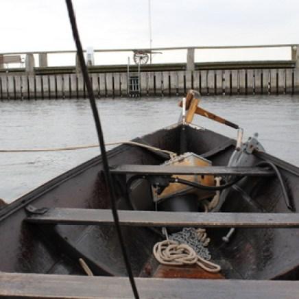 An Bord eines Schiffes