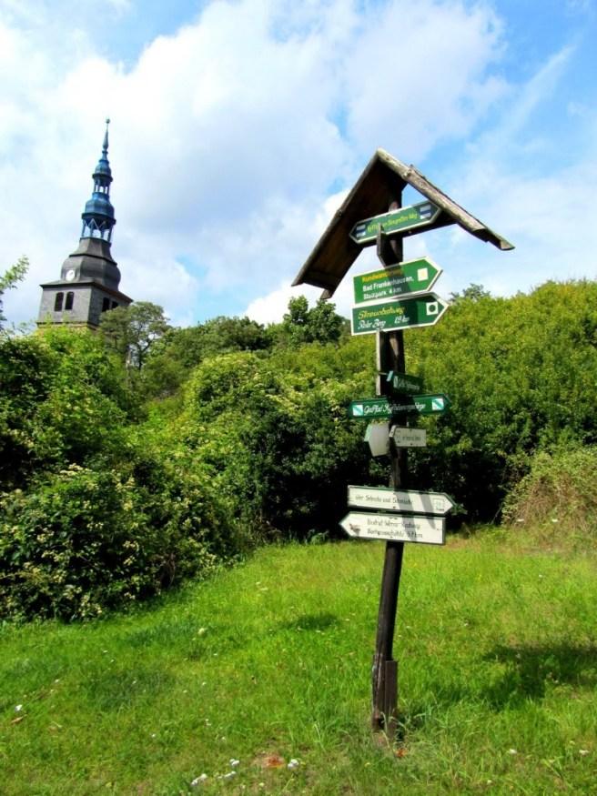 Schiefer Turm von Bad Frankenhausen