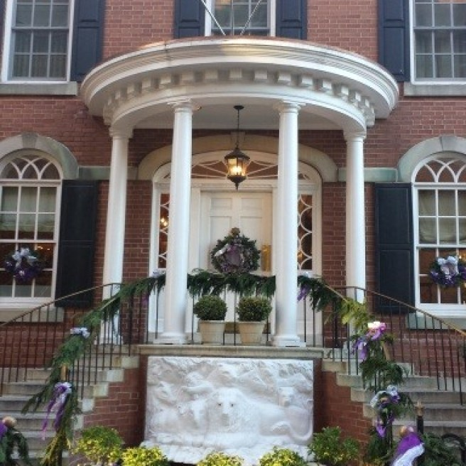 Der Eingang vom Hotel